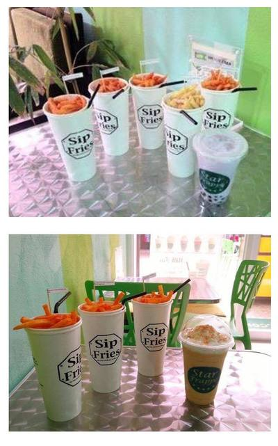 Sip Fries Food Cart Franchise - P99,000